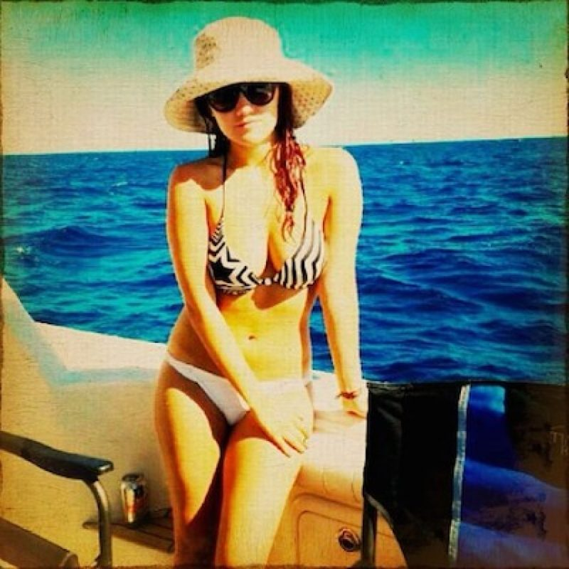 Dulce María no pierde su encanto Foto:Instagram @dulcemaria