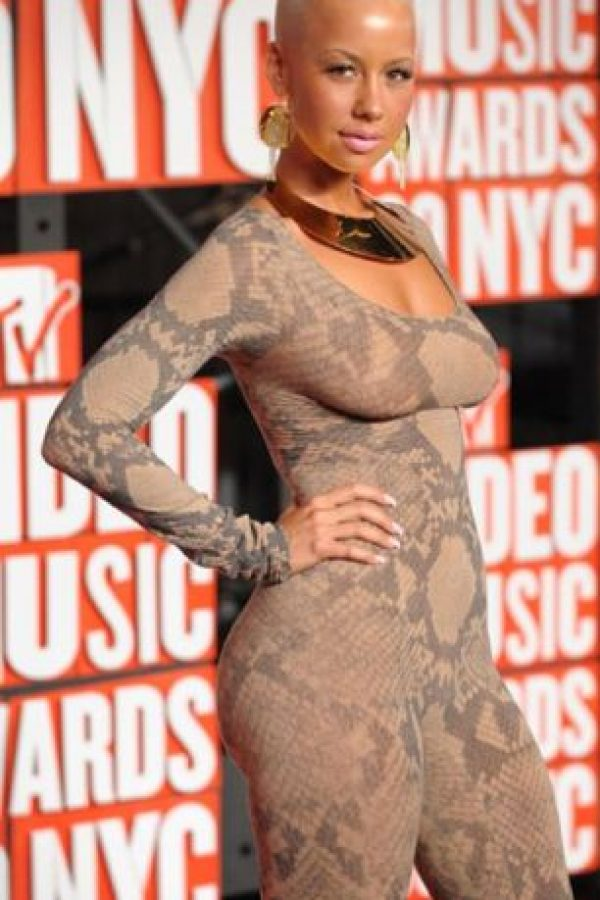 Amber Rose mató una anaconda. Foto: vía Getty Images