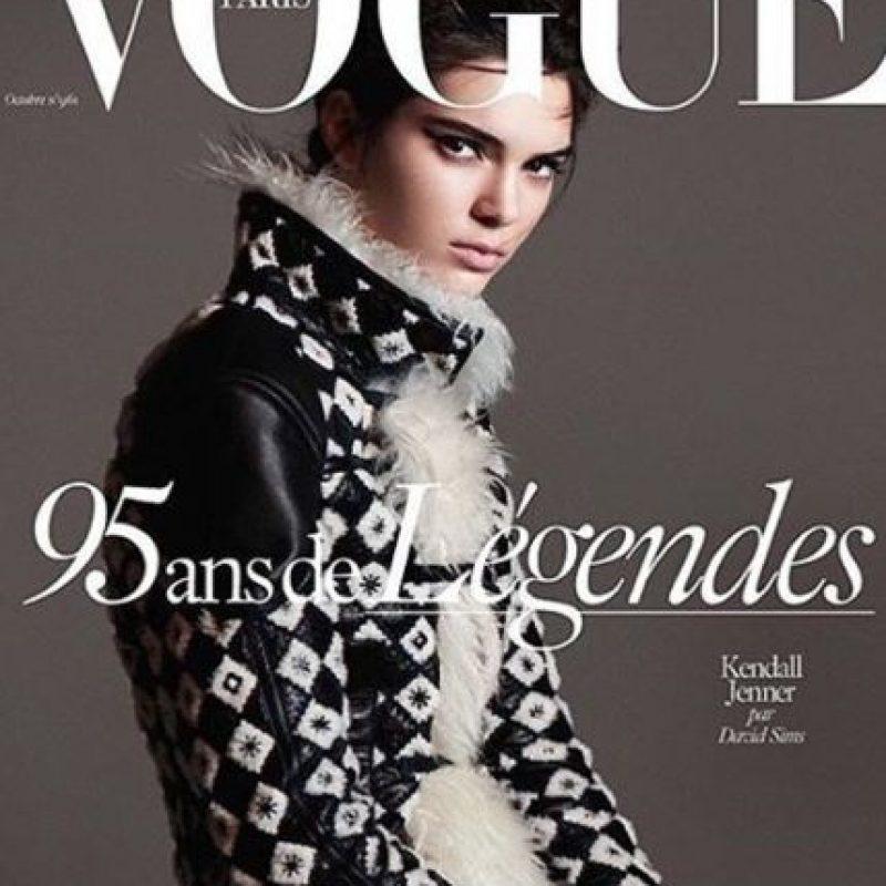 """Nunca fue portada de """"Vogue"""". Foto:vía Instagram/kendalljenner"""