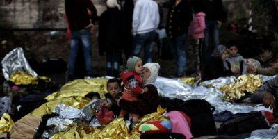 Al menos tres mil personas han muerto o han desaparecido este año de cruzar el mar Mediterráneo. Foto:AFP