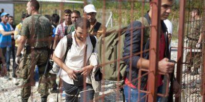 Miles de personas han escapado de Siria Foto:AFP