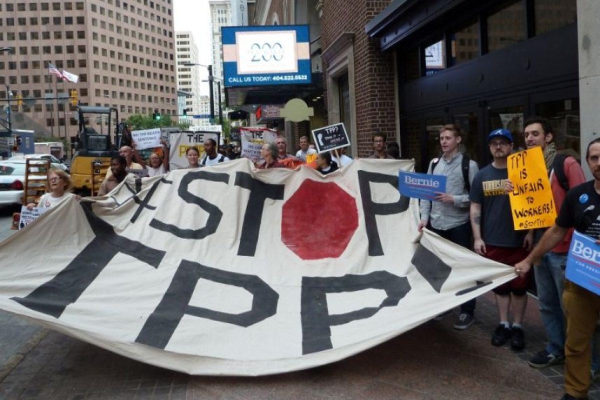 Una de las principales razones por las que el TPP ha causado polémica es que sus negociaciones se llevan en secreto Foto:AFP