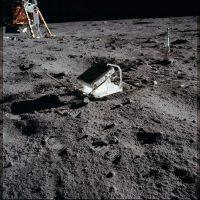 Parte de los trabajos en la superficie lunar Foto:Flickr.com/projectapolloarchive