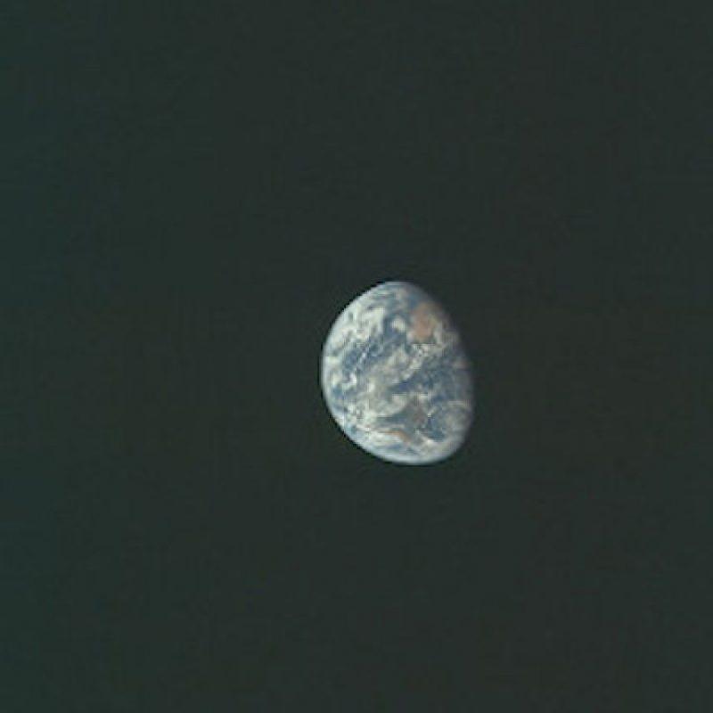 Una de las fotografías de la Tierra Foto:Flickr.com/projectapolloarchive