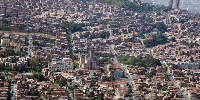 Barrio la Milagrosa, segundo lugar según el arquitecto Arbeláez. Foto:Cortesía: Fotos Vidal – Alcaldía de Medellín