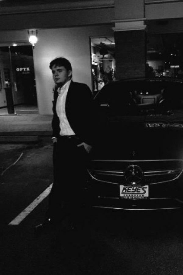 Pero no es un Casanova Foto:vía twitter.com/princemjjjaxon