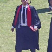 En junio pasado se graduó de la Escuela Secundaria Buckley en Sherman Oaks, California Foto: The Grosby Group