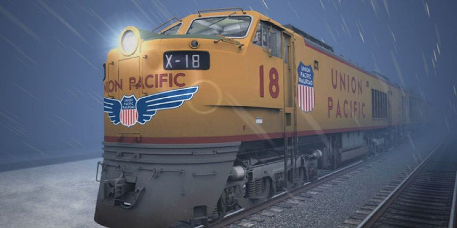 Conduciendo la legendaria locomotora de turbina de gas de Union Pacific Foto: Dovetail Games
