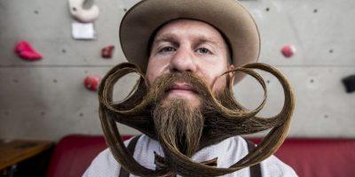 Hombres de todas partes del mundo demuestras su creatividad junto a su pelo facial. Foto:Getty Images