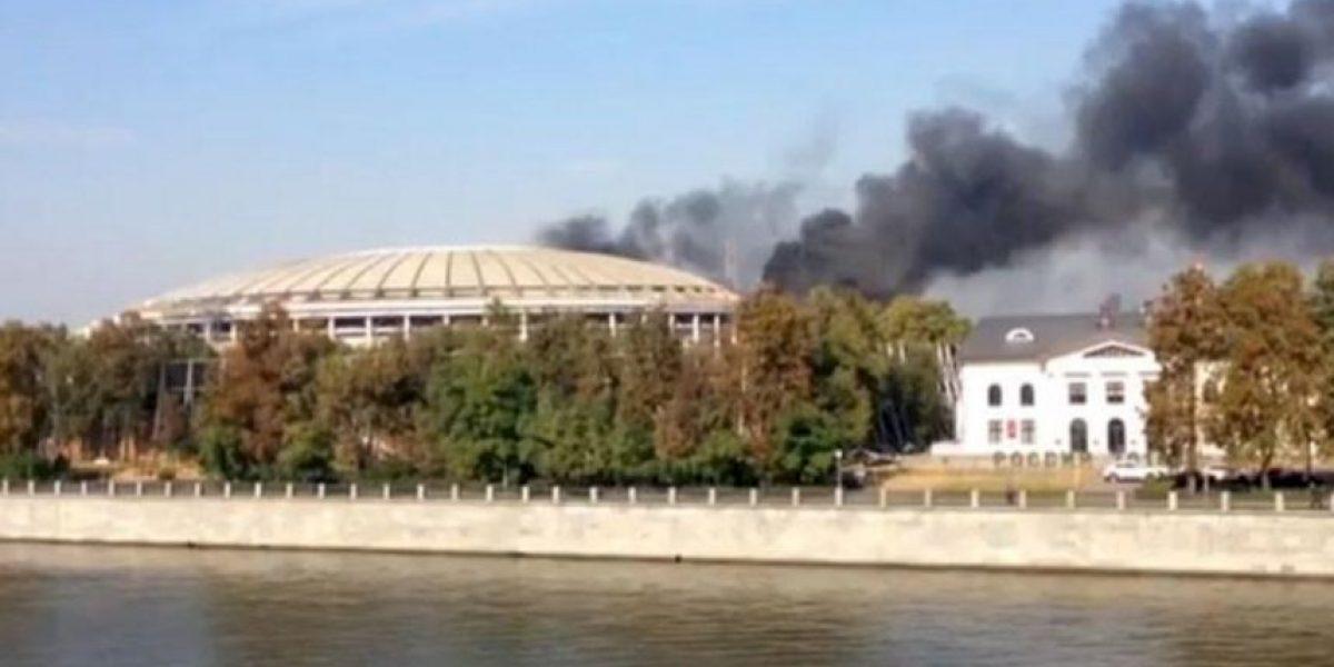 Se incendia el Estadio de la final del Mundial de Rusia 2018