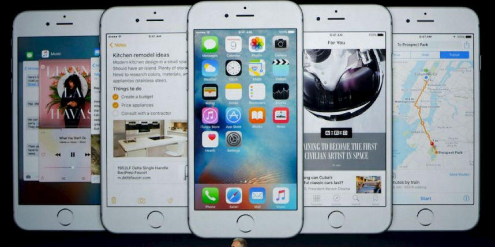 6- LIVE PHOTOS (a app oficial de Apple para hacer fotos con movimiento) Foto:Apple