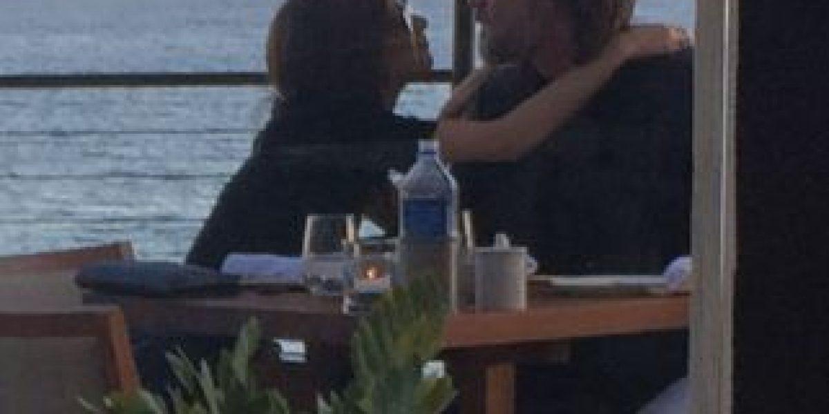 Difunden fotos de la última velada romántica de Jim Carrey y Cathriona White
