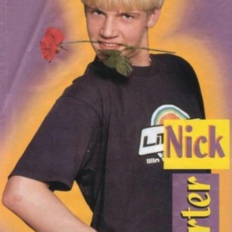"Nick Carter Foto:Revista ""Pop Star"""