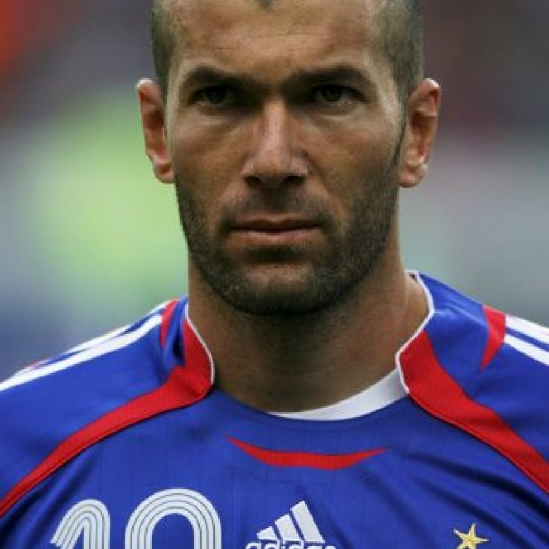 Zinedine Zidane (Francia) Foto: Getty Images