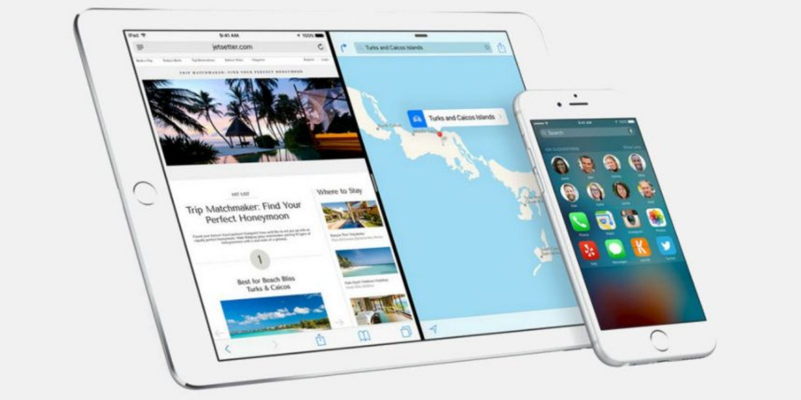 iOS 9 ya está disponible para su descarga Foto: Apple