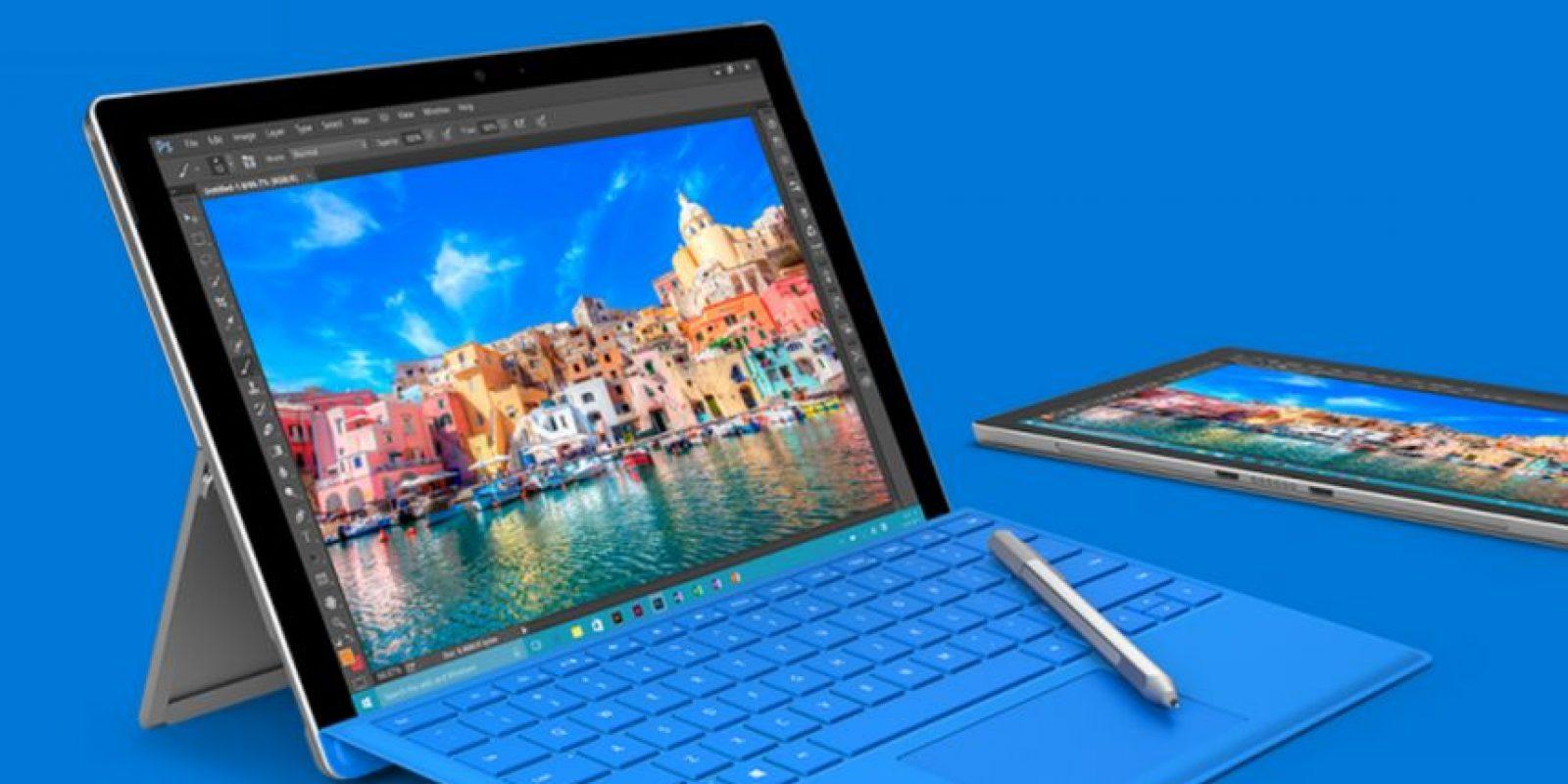 La firma de Redmond ha presentado la Surface Pro 4 Foto:Microsoft