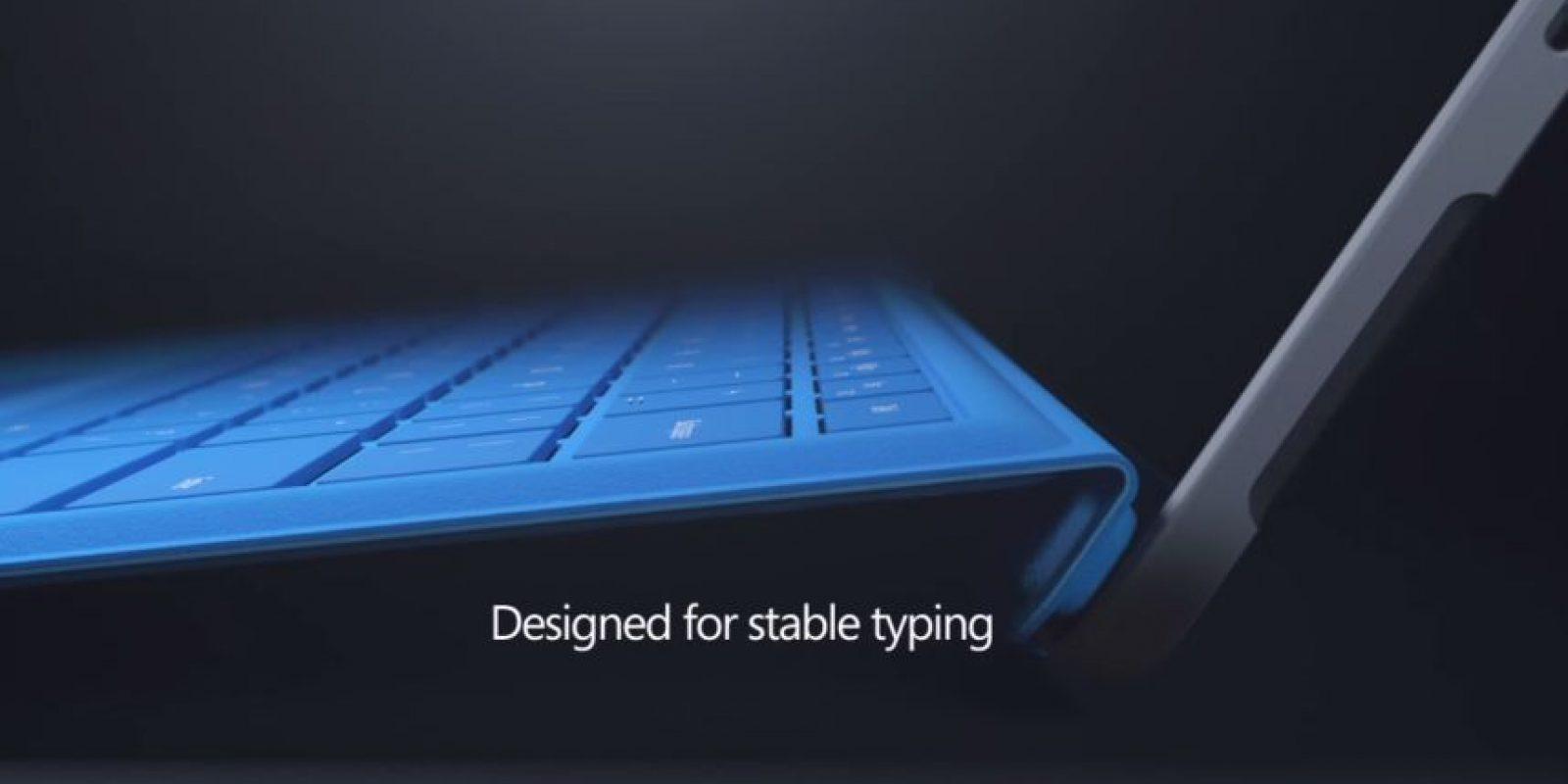 El keyboard tiene teclas más espaciadas Foto:Microsoft