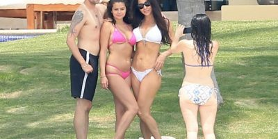 En abril, la cantante visitó las playas de Puerto Vallarta en México. Foto:The Grosby Group
