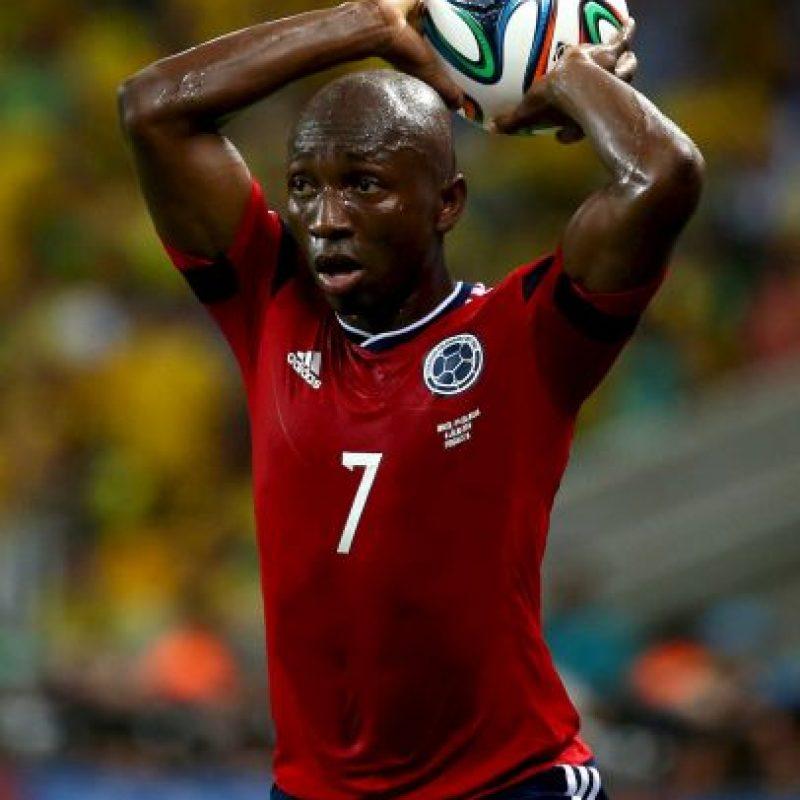 Los colombianos también sufrieron la baja de Pablo Armero Foto:Getty Images