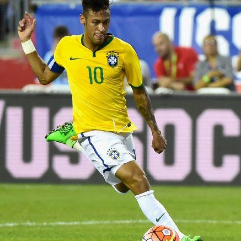 No verá actividad por una suspensión que sufrió en la Copa América de Chile 2015 Foto:Getty Images