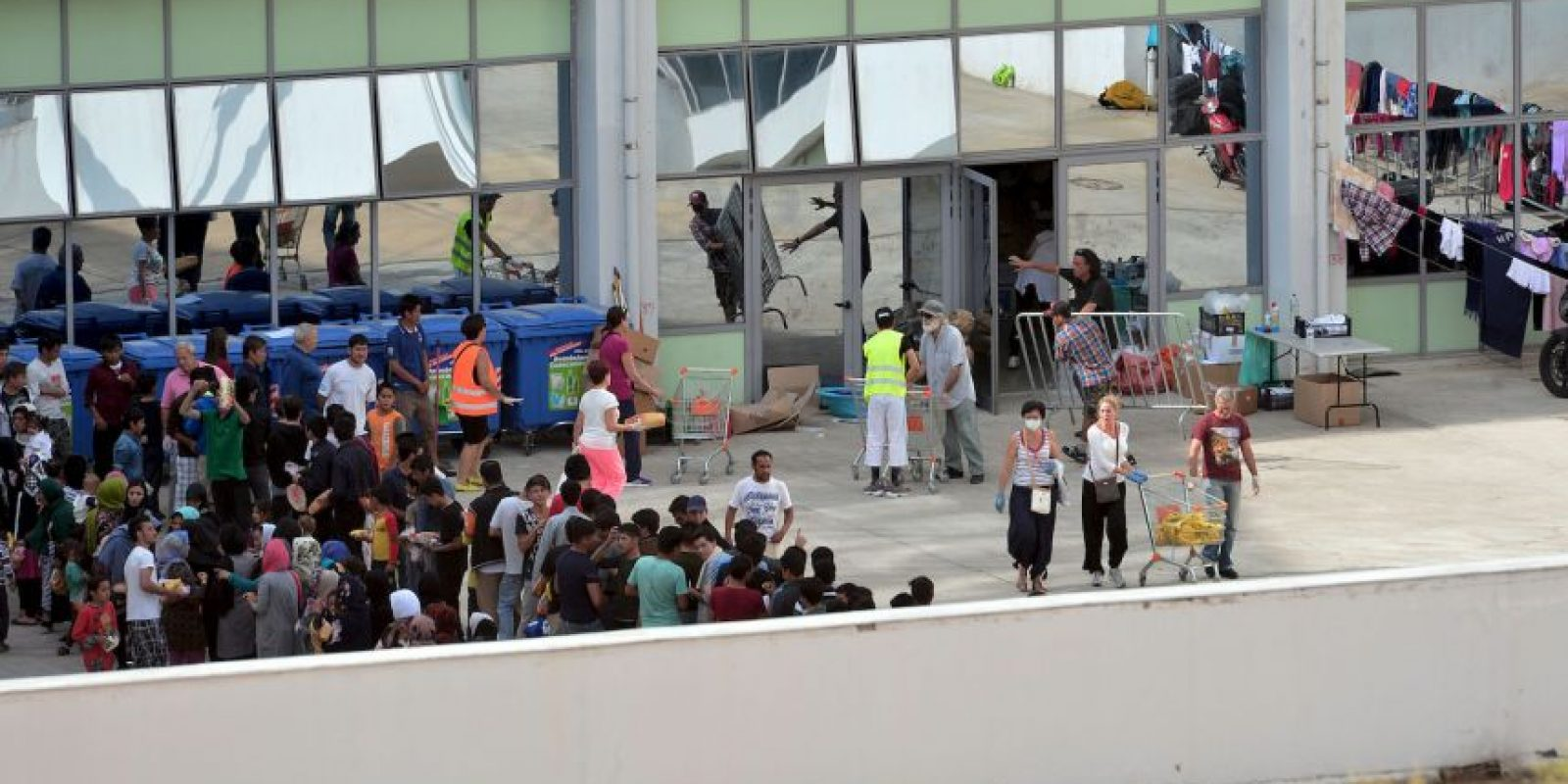 En Atenas, Grecia, reutilizarán algunos complejos olímpicos para alojar a migrantes Foto:Getty Images