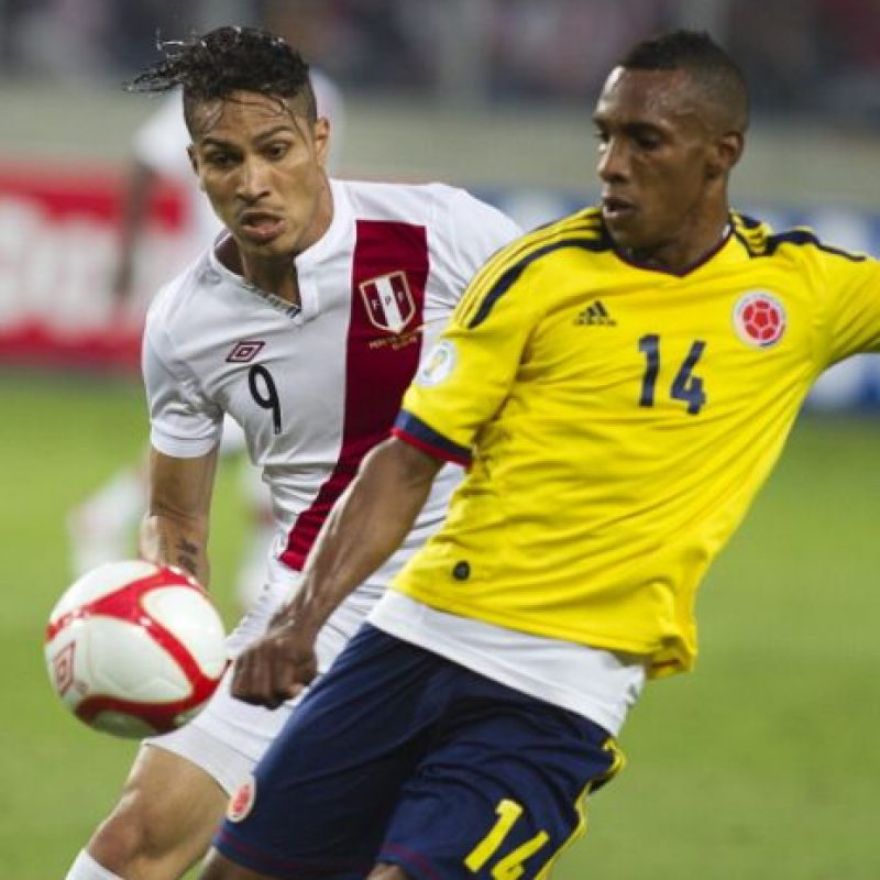 Colombia vs. Perú en el Estadio Metropolitano Roberto Melendez de Barranquilla. Foto:Getty Images