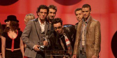 """'N Sync fue una """"boy band"""" de pop que se formó en 1995. Foto:Getty Images"""
