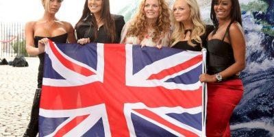 Spice Girls fue un grupo británico de música pop Foto:Getty Images