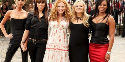 Geri Halliwell, Melanie Brown, Melanie Chisholm, Victoria Beckham y Emma Bunton. Foto:Getty Images