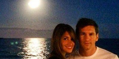 Es la pareja de Lionel Messi Foto:Vía instagram.com/antoroccuzzo88