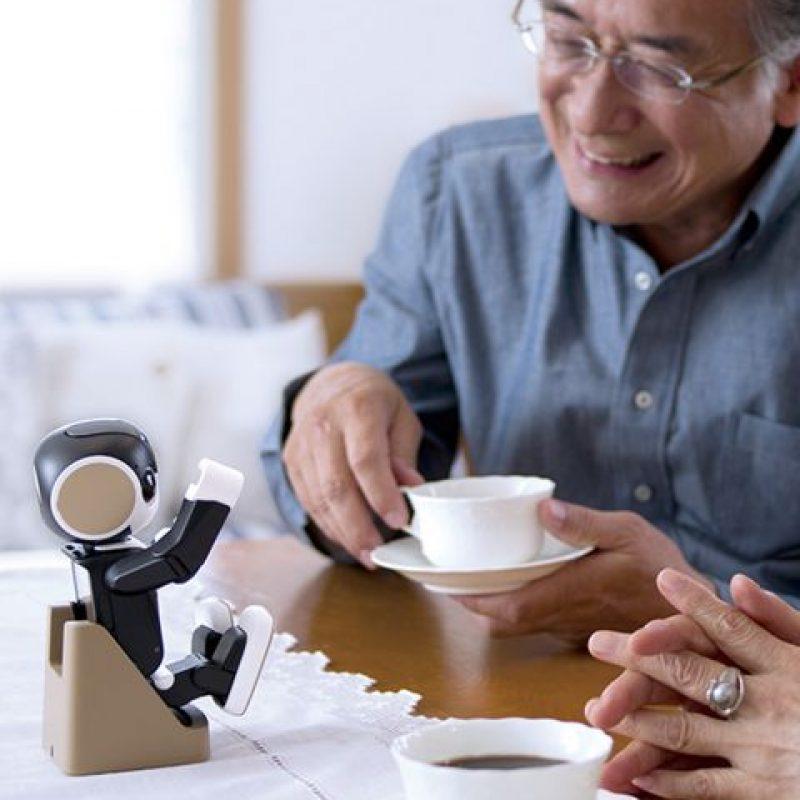 También podrá usarse como una especie de dispositivo recordatorio Foto:Sharp