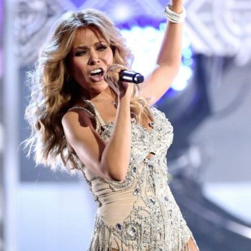 Gloria Trevi durante su performance Foto:Getty Images