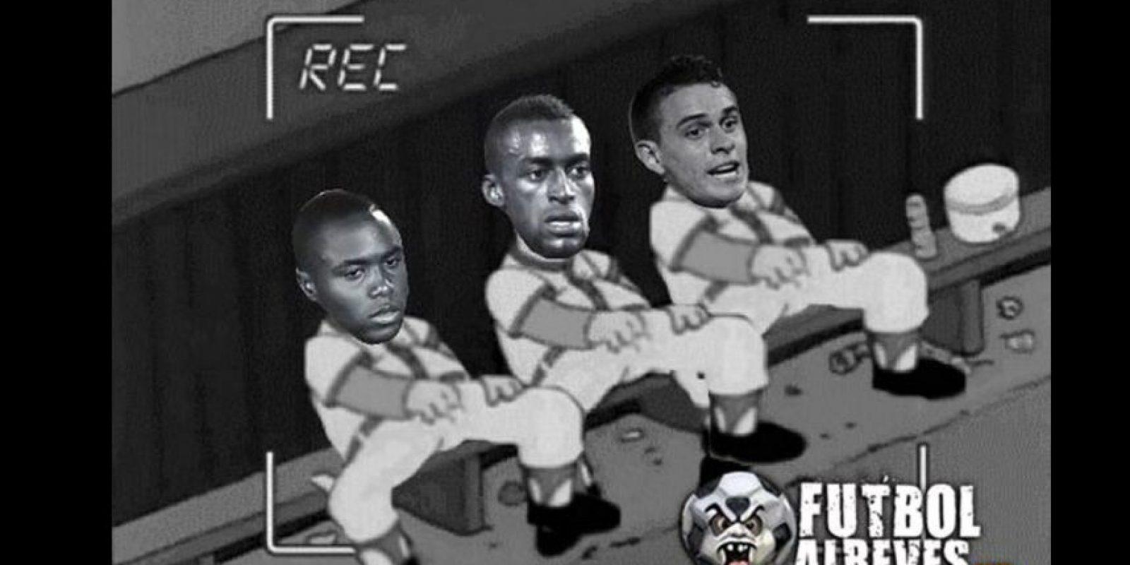 Foto:Tomado del Facebook Fútbol Al Revés.