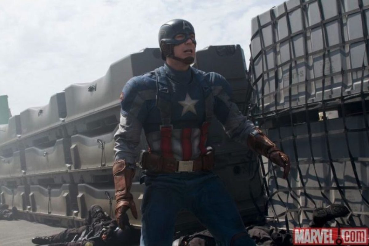 "Chris Evans interpreta al legendario ""Capitán América"" Foto: vía facebook.com/CaptainAmerica"