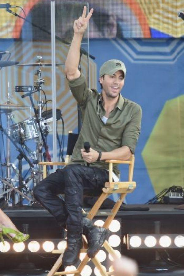 Así que las fans de Enrique Iglesias pueden estar tranqulas. Foto:Getty Images