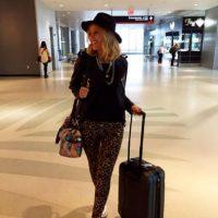 Barbie Simons es una periodista de 34 años que actualmente sale con el asesor financiero Juan Rodríguez Foto:vía twitter.com/barbiesimons