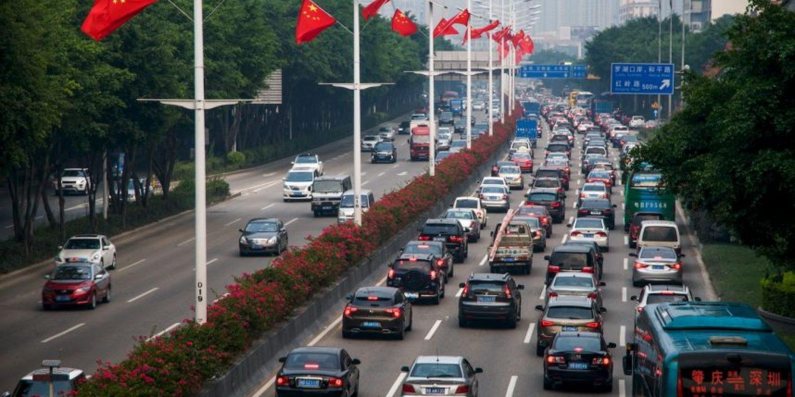 Al termino de los días de descanso los ciudadanos decidieron volver a Pekín, China. Foto:Getty Images