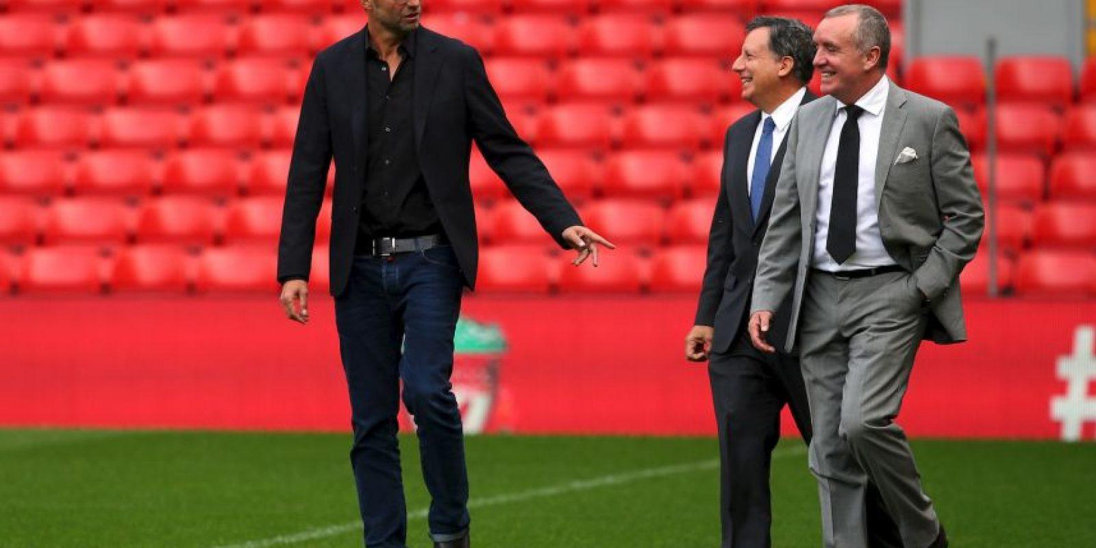 """Pero dejó sus vacaciones para dirigir a los """"Reds"""" Foto:Getty Images"""