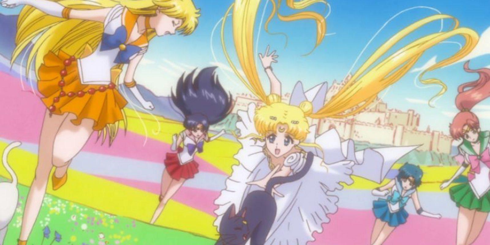 Se ha interpretado mucho con Haruka y Michiru. Los menos avezados afirman que una representa a la mujer japonesa moderna. La otra, a la tradicional. Foto:vía Toei