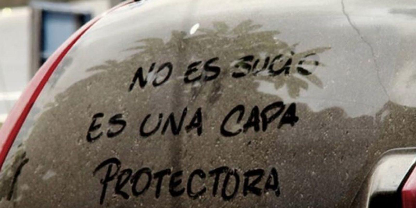 Porque hay excusas menos elegantes para este auto impresentable. Foto:vía Colombianadas.net