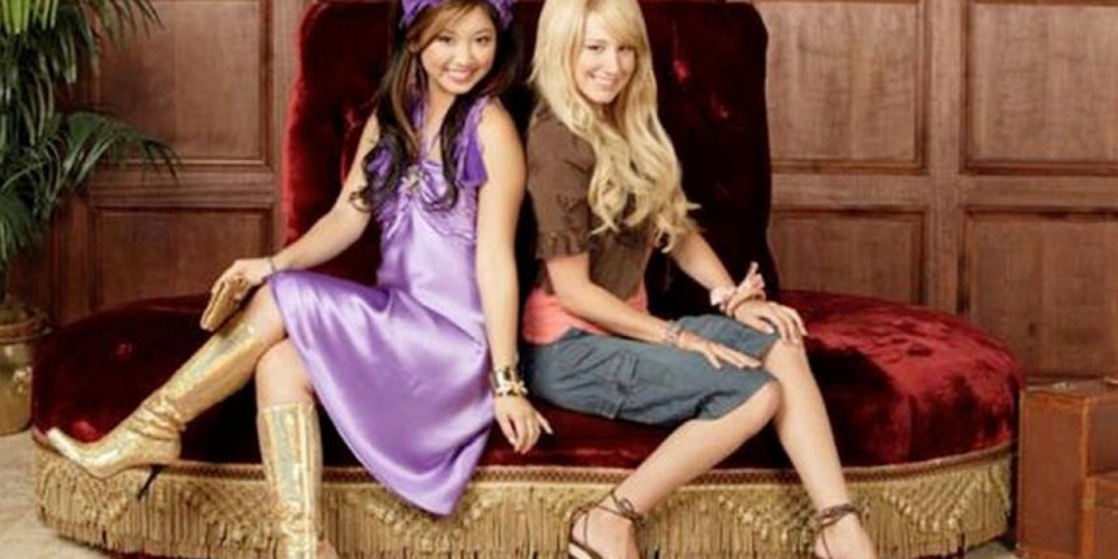 "Brenda Song Interpretó al personaje de ""London Tipton"" Foto: Disney"