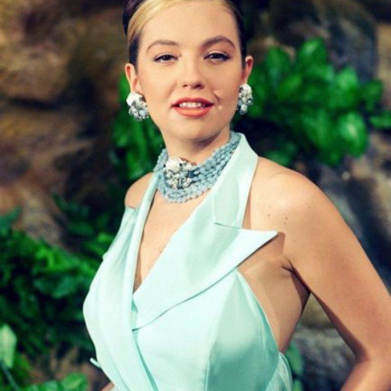 """La telenovela """"María la del Barrio"""" la realizó en 1996. Foto:vía facebook.com/YoLeiaLaRevistaEres"""