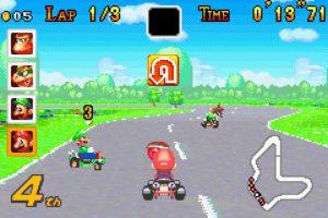 """Mario Kart: Super Circuit"" para Game Boy Advance (2001) Foto:Nintendo"