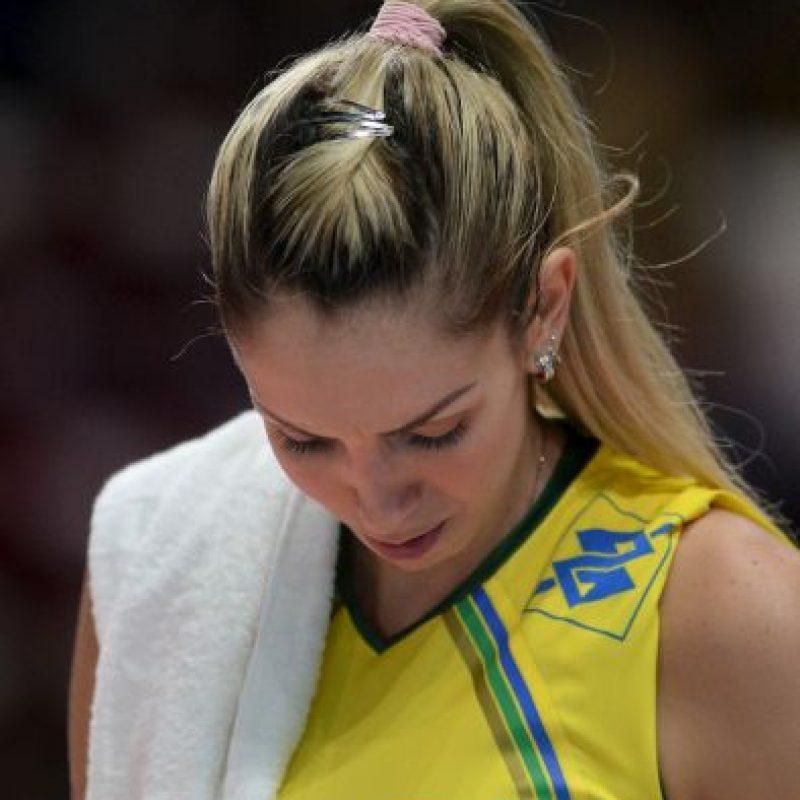 Thaisa Menezes es la deportista brasileña que enciende las redes sociales con su espectacular figura. Foto:Getty Images
