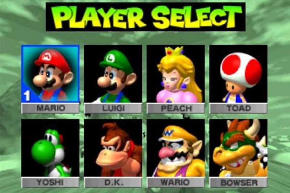 """""""Mario Kart 64"""" para N64 (1996) Foto:Nintendo"""