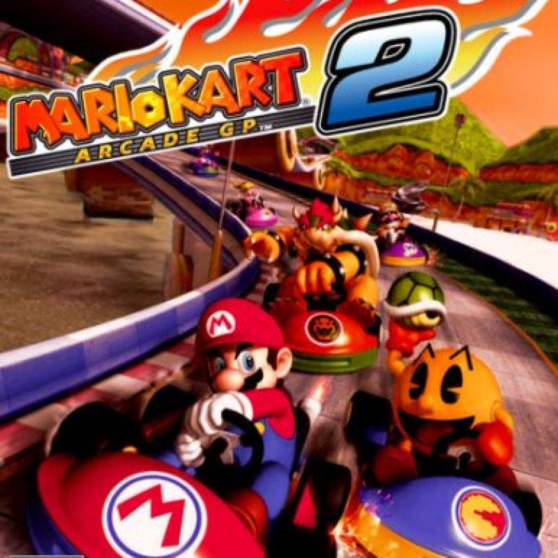 """""""Mario Kart Arcade GP 2"""" para Arcade (2007) Foto:Nintendo"""