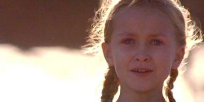 """Eso fue en el año 2000. Interpretaba a la más pequeña de las hijas del caudillo """"Benjamin Martin"""", interpretado por Mel Gibson. Foto:vía Columbia Pictures"""