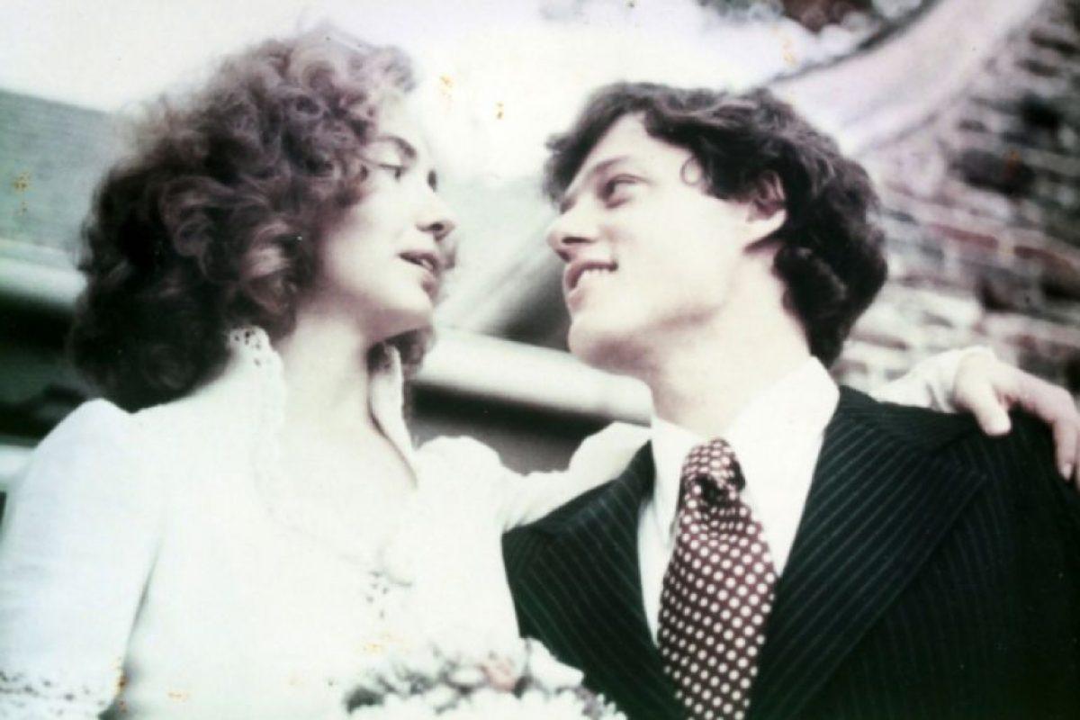 La boda (11 de octubre de 1975). Foto:clintonlibrary.gov