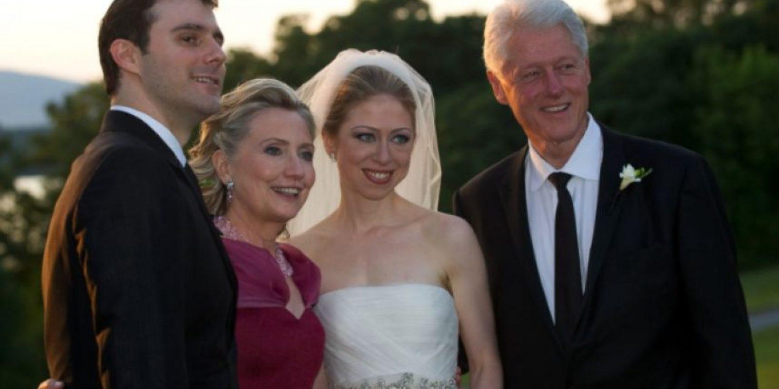 La boda de Chelsea Clinton, el 31 de julio de 2010. Foto:Getty Images