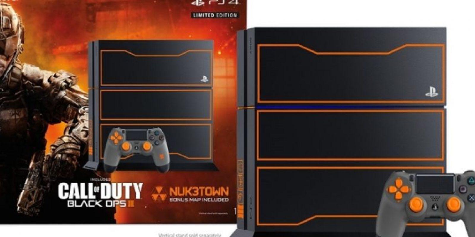 Paquete Limited Edition Call of Duty: Black Ops III PS4 de 1TB quedó en 429 dólares. Foto:Sony